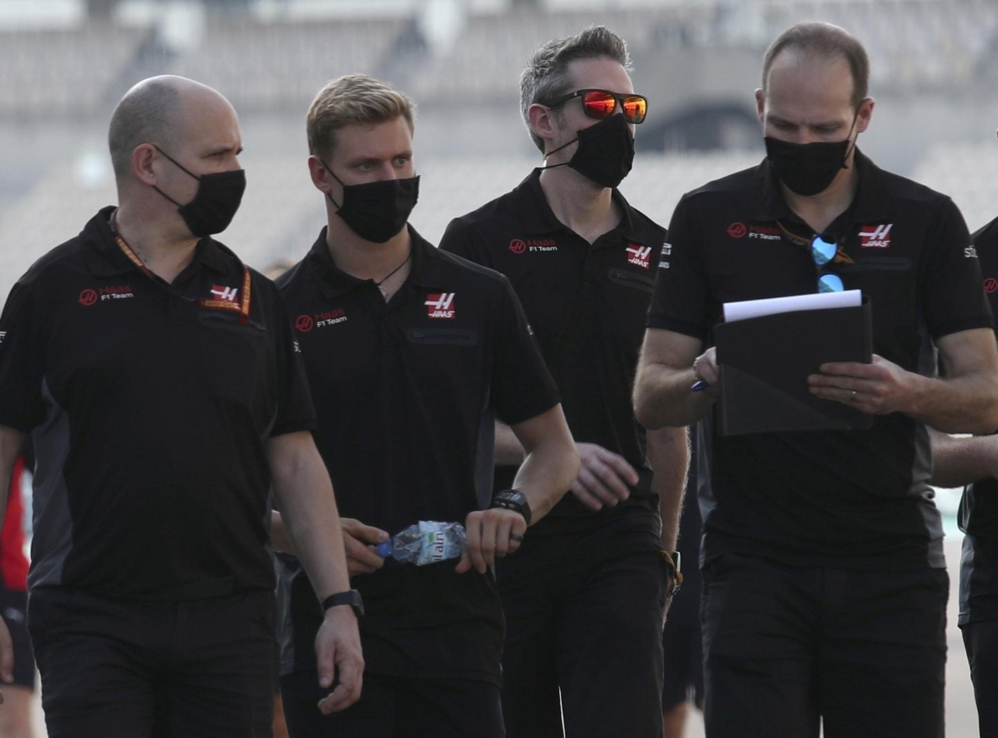 Mick Schumacher Formel 1-Debüt Haas Abu Dhabi 9