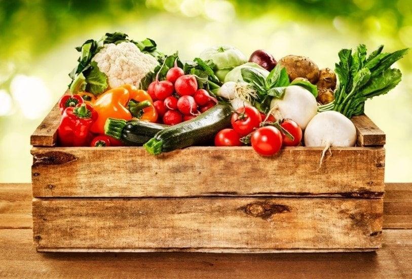 Bio-Kiste Gemüse