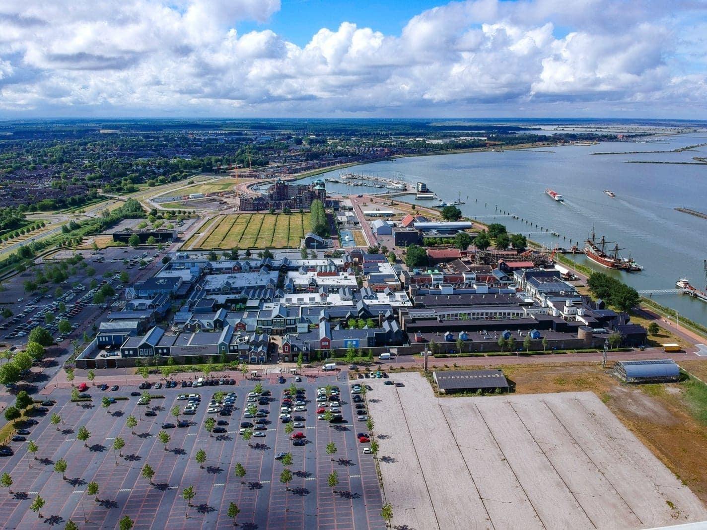 Batavia Stad Lelystad Holland