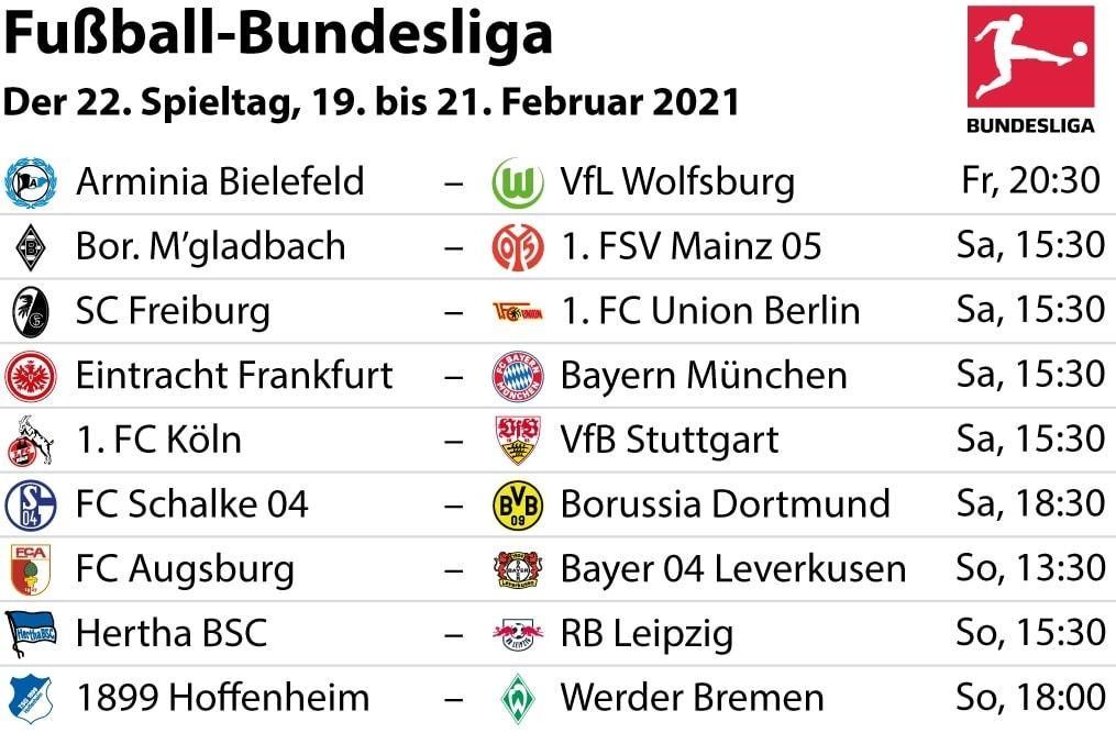 Bundesliga 22 Spieltag