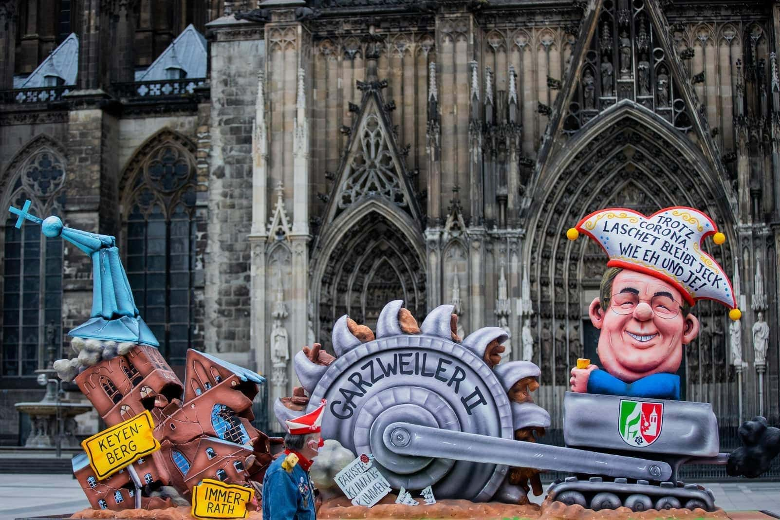 Corona Rosenmontag Köln 5