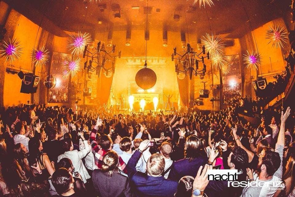 Nachtresidenz Kuppelsaal Party 2018