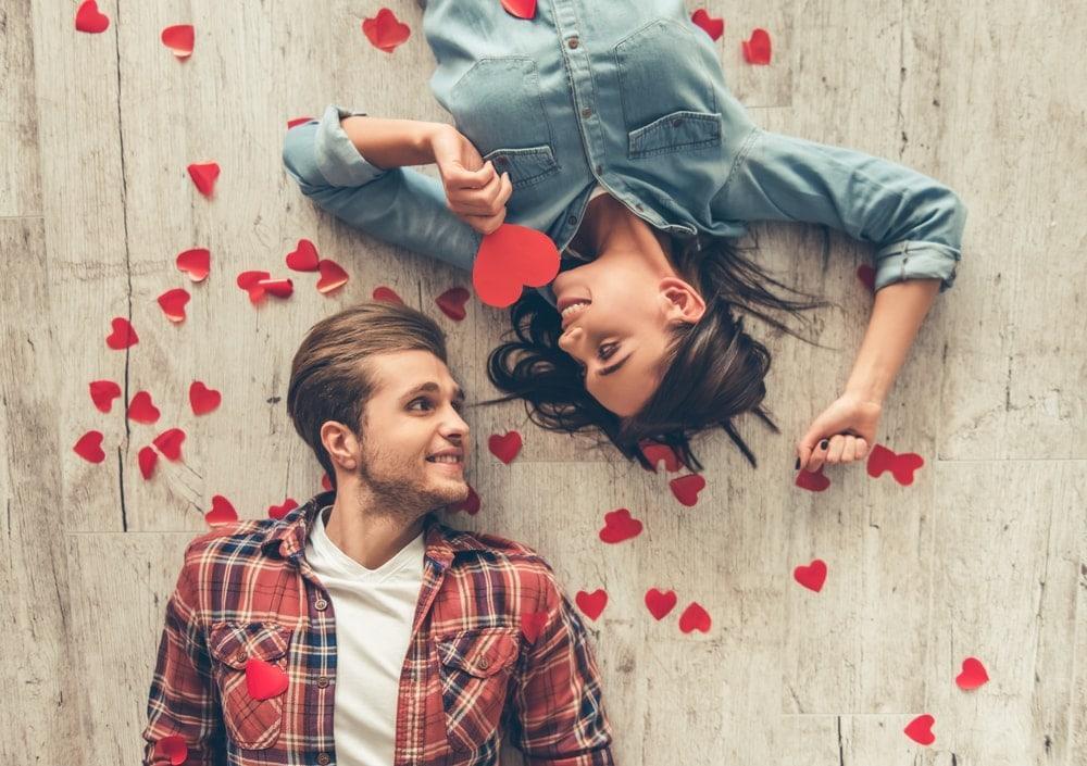 Valentinstag, Paar, verliebt