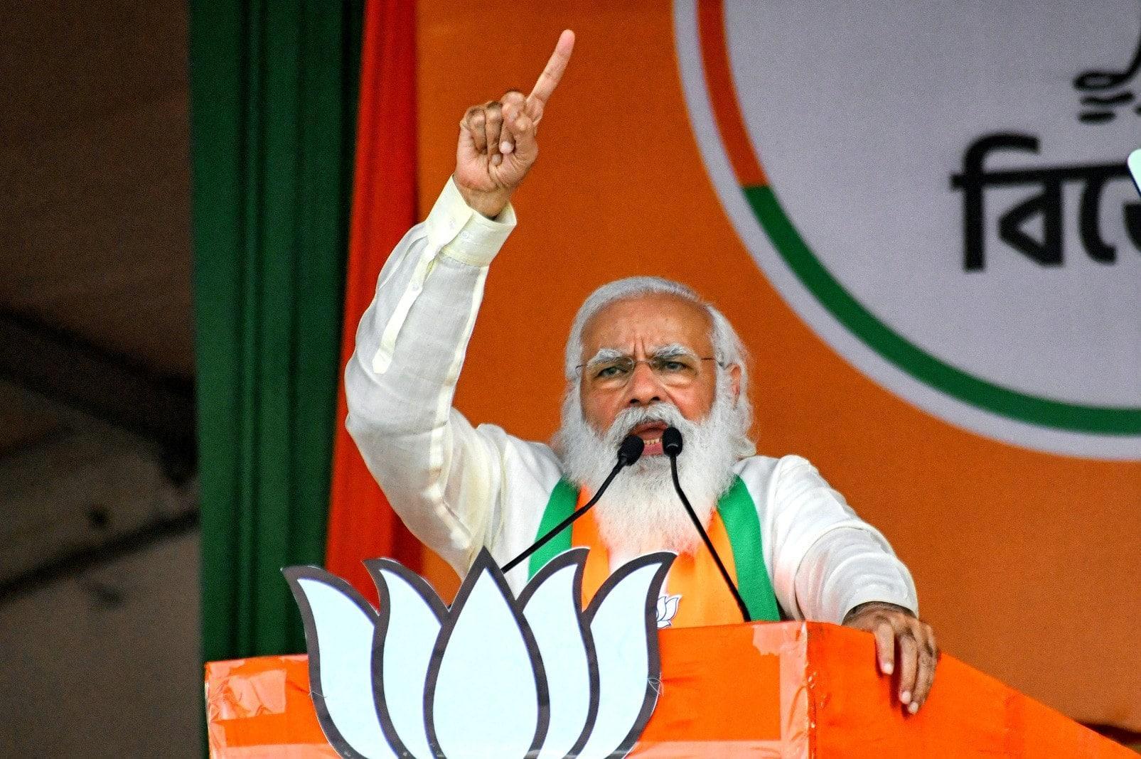 Indischer Premierminister Narendra Modi für BS