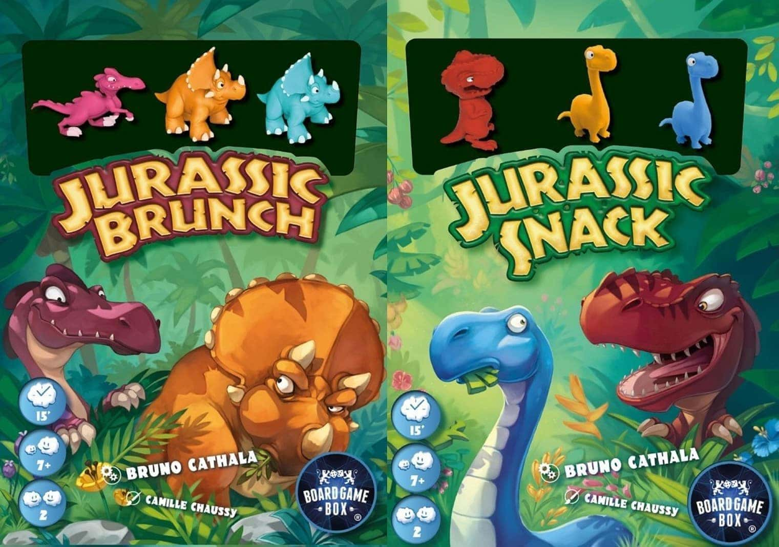 Jurassic Brunch / Jurassic Snack