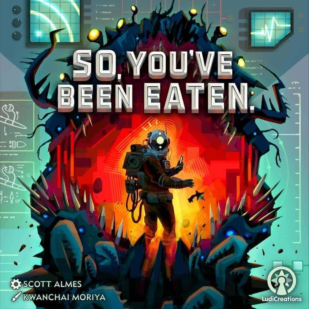 So you've been eaten