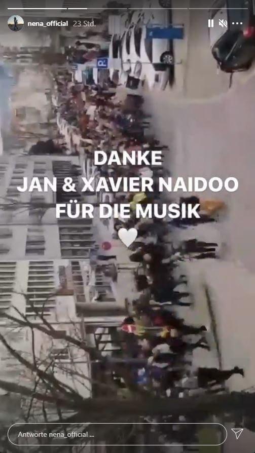 Nena Kassel Xavier Naidoo