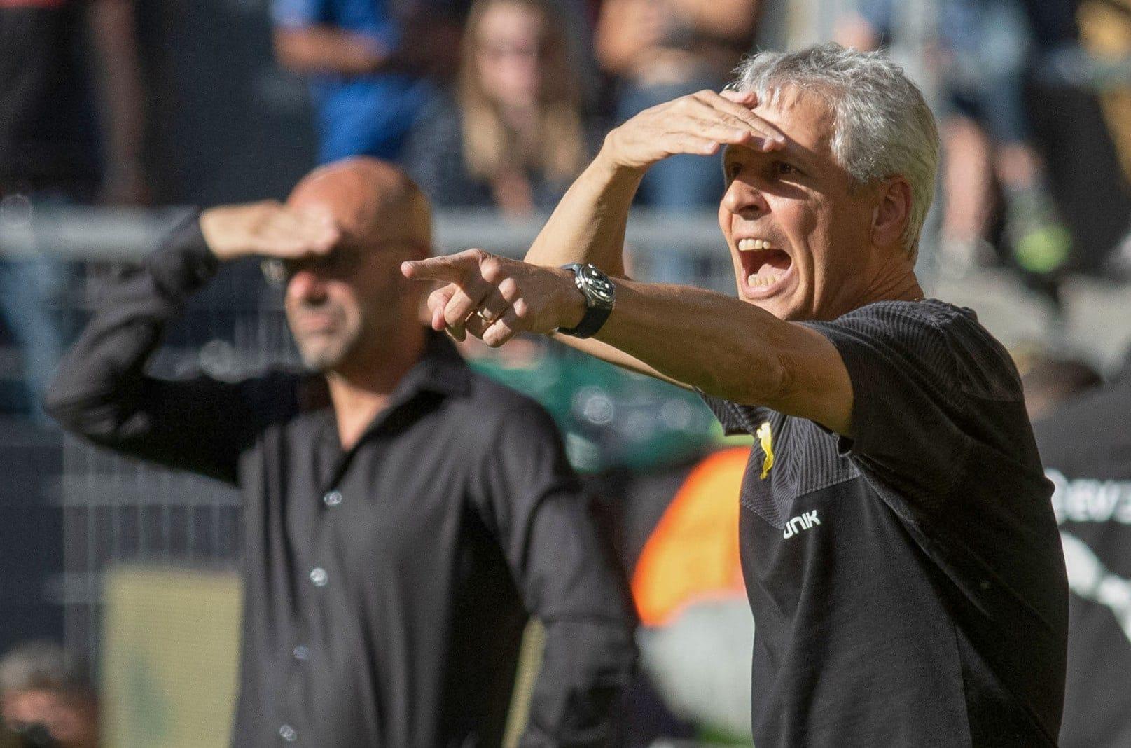 Peter Bosz Lucien Favre für BS