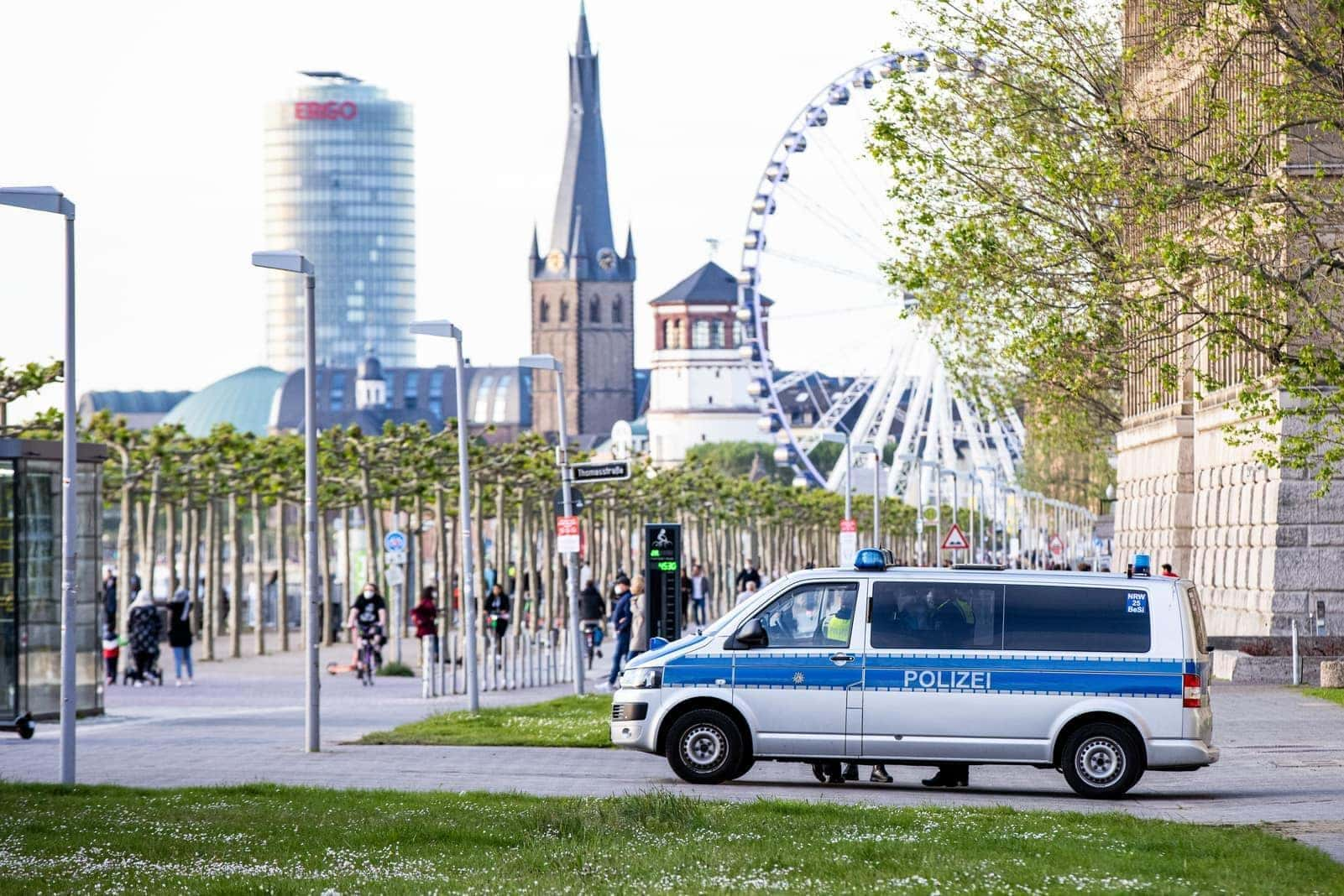 Düsseldorf Innenstadt Polizei