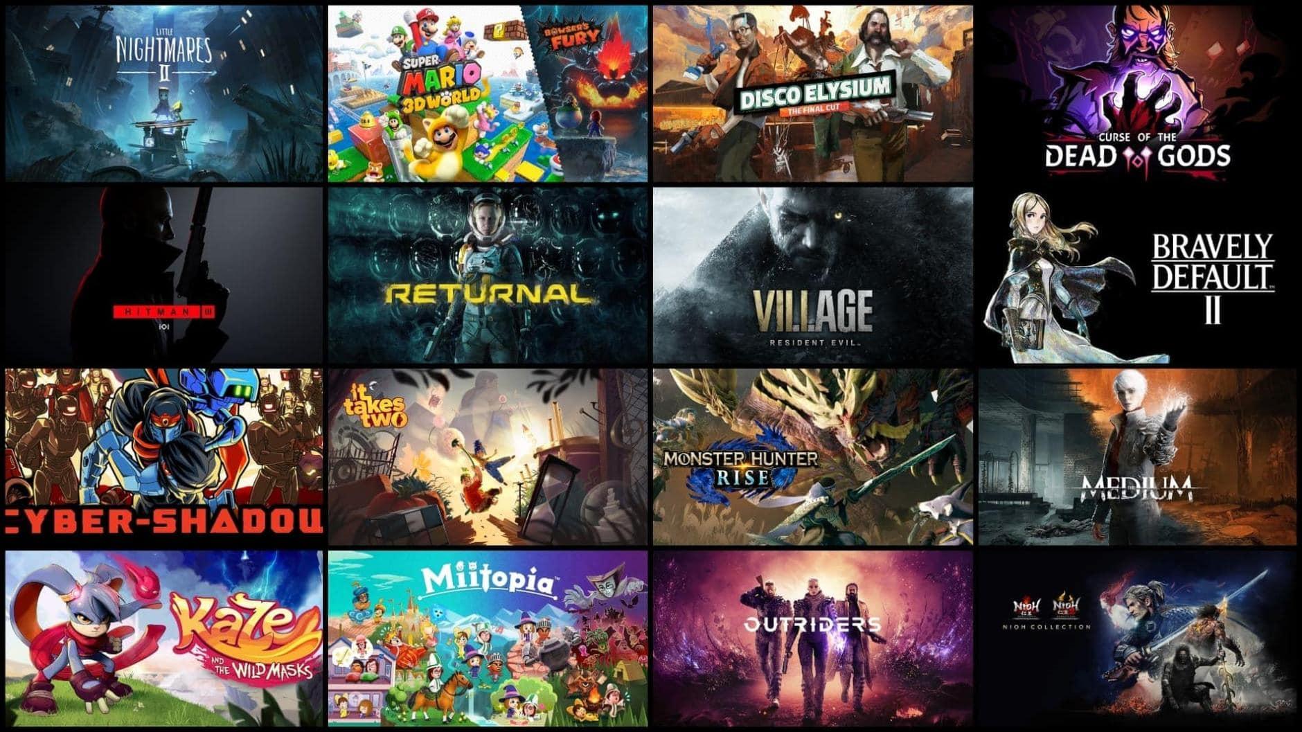 Games des Jahres 2021