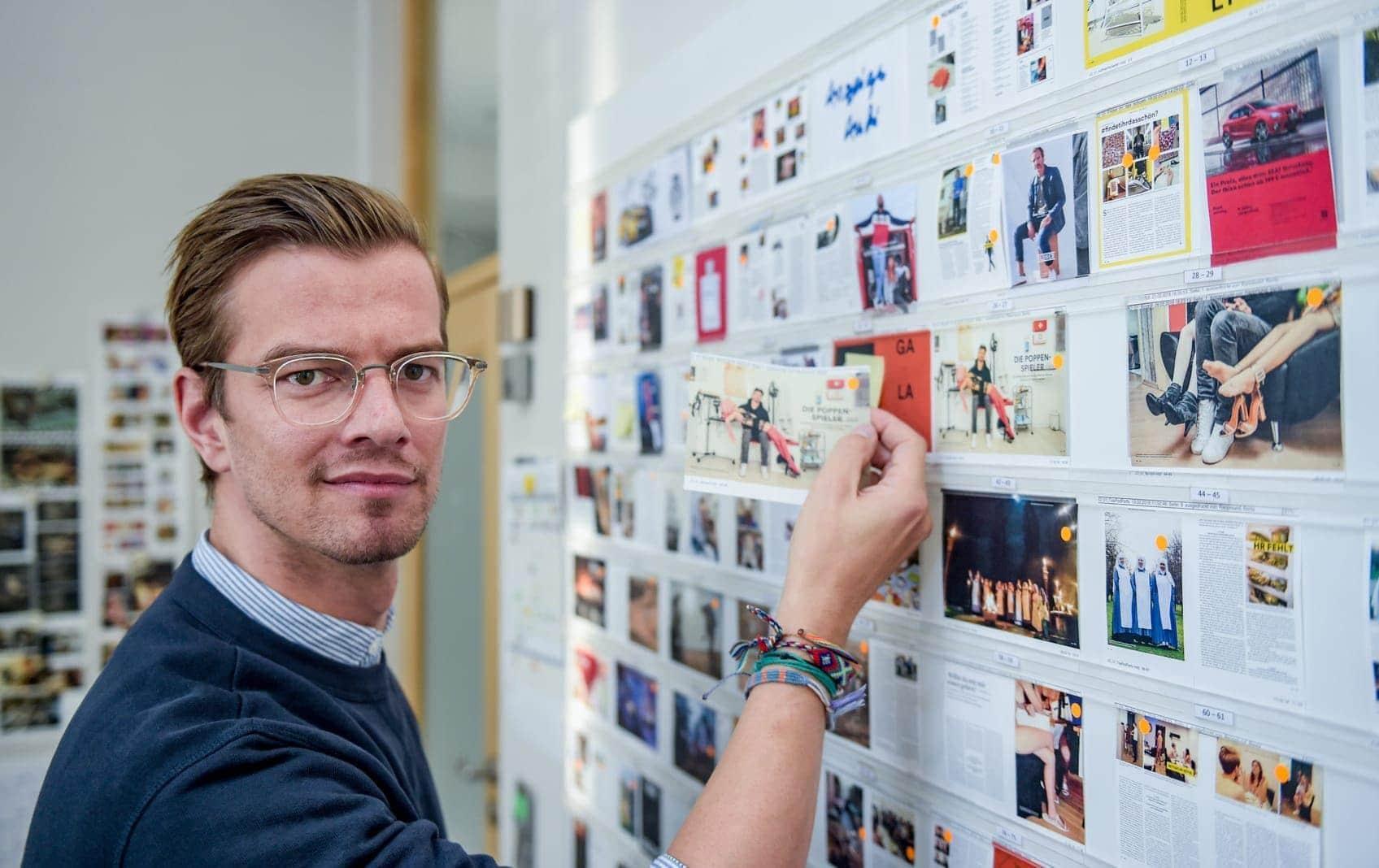 Joko Winterscheidts Druckerzeugnis (JWD)mit Gruner + Jahr