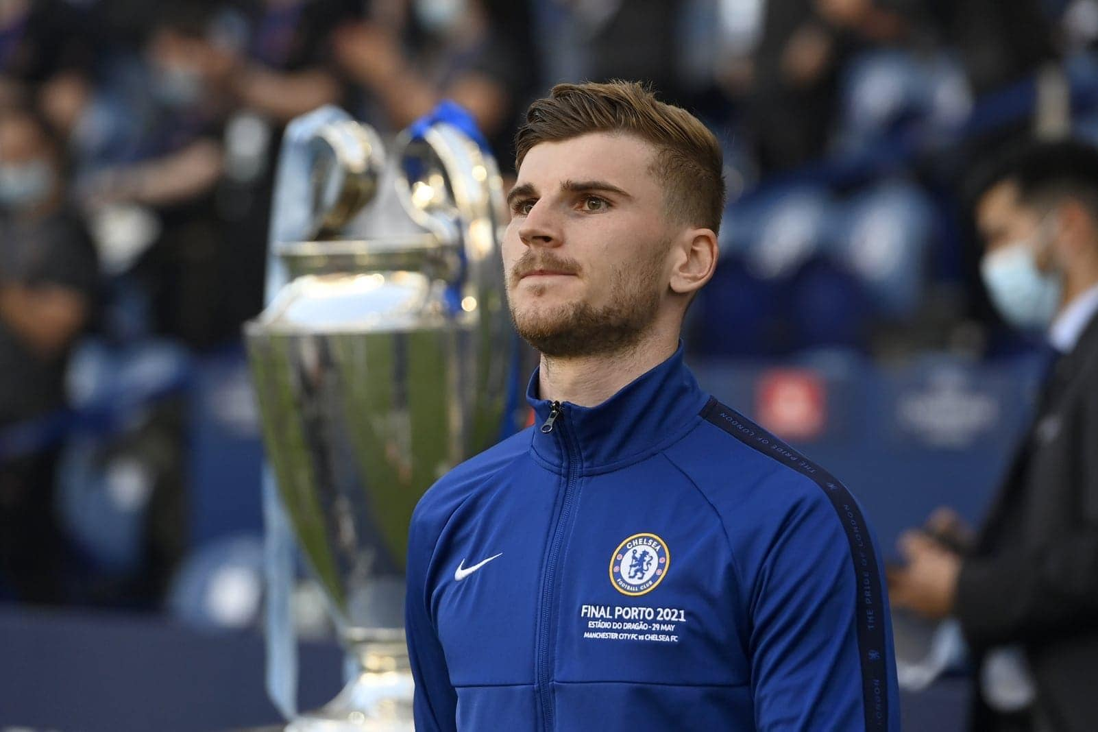 Manchester City - FC Chelsea Timo Werner Pokal