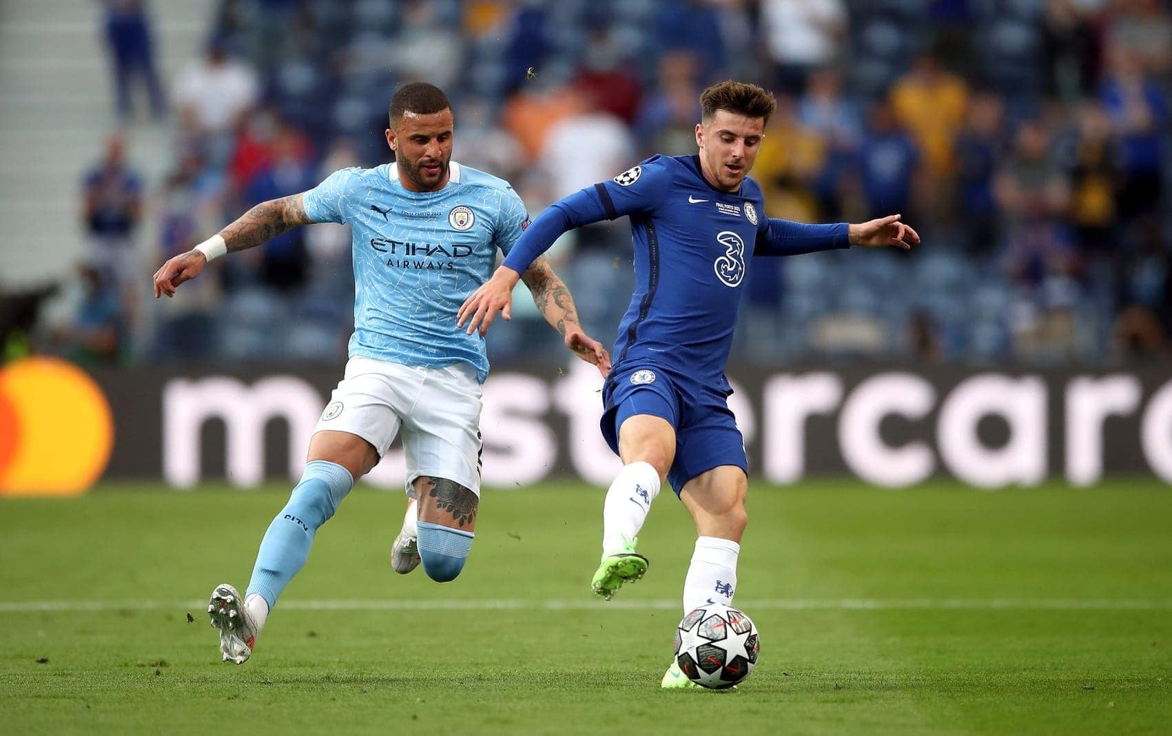 Manchester City - FC Chelsea Kyle Walker Mason Mount
