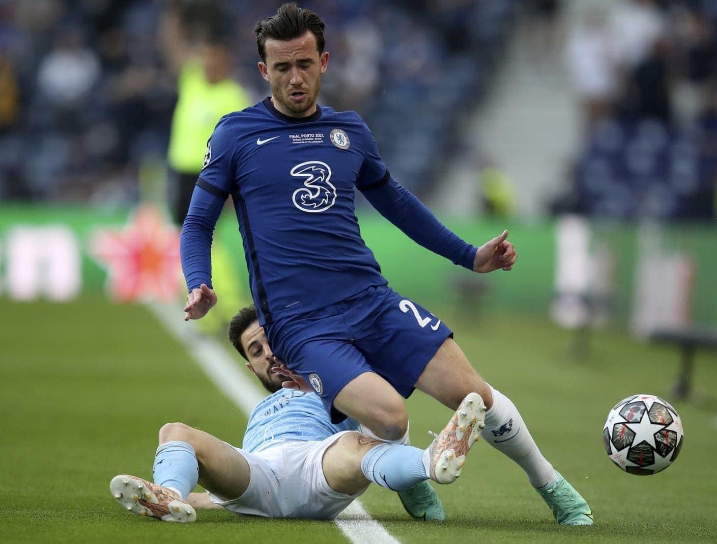Manchester City - FC Chelsea Ben Chilwell Bernardo Silva