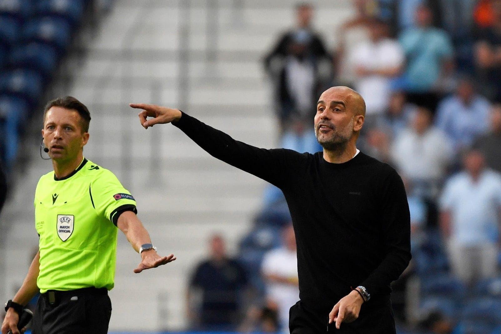 Manchester City - FC Chelsea Pep Guardiola