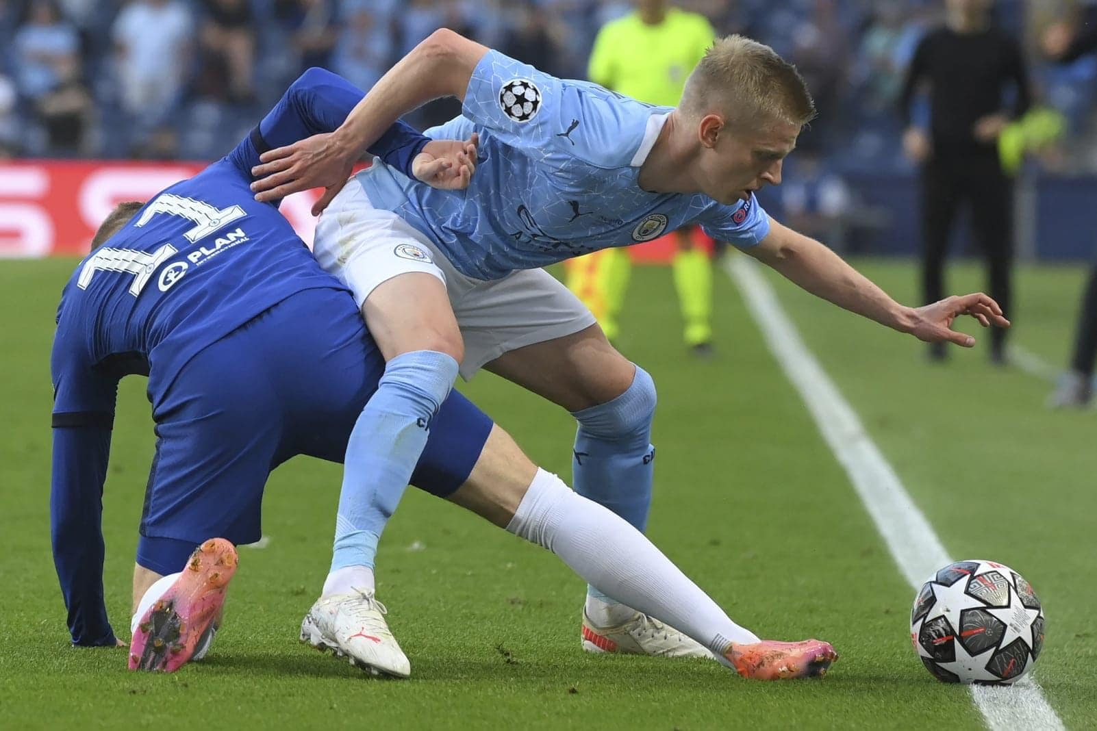 Manchester City - FC Chelsea Oleksandr Zinchenko Timo Werner