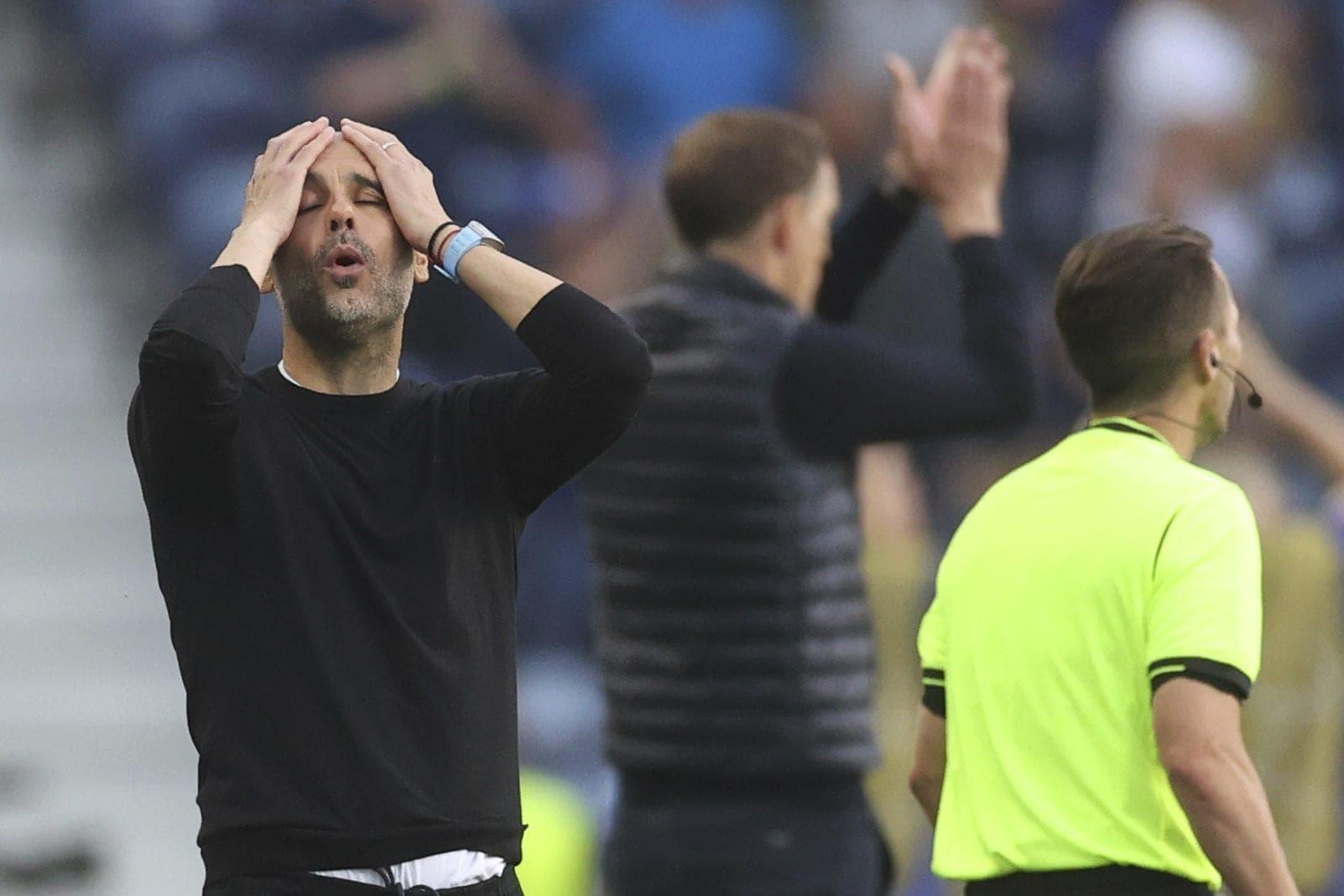 Manchester City - FC Chelsea Pep Tuchel