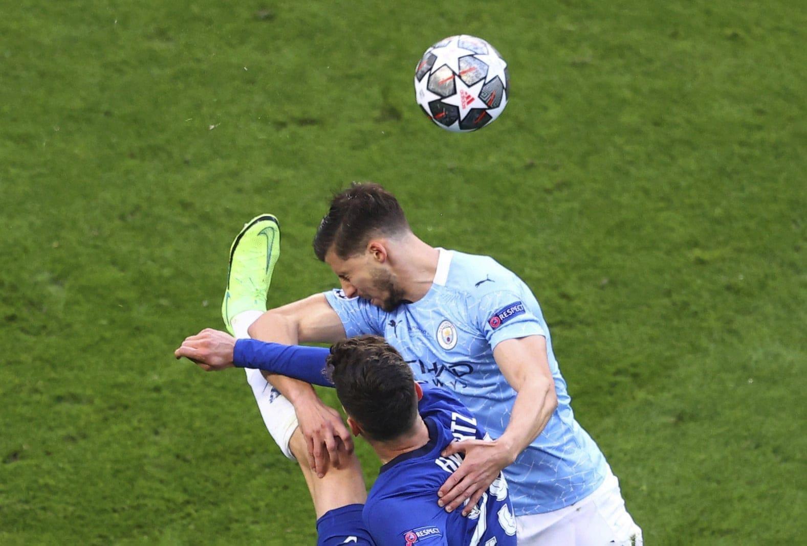 Manchester City - FC Chelsea Ruben Dias Kai Havertz