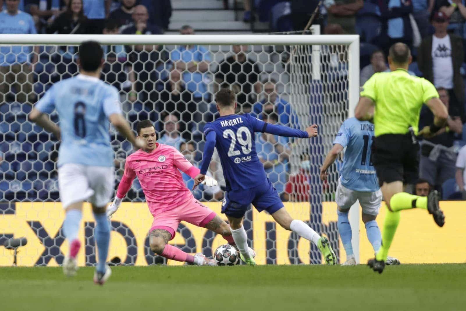 Manchester City - FC Chelsea Kai Havertz Ederson