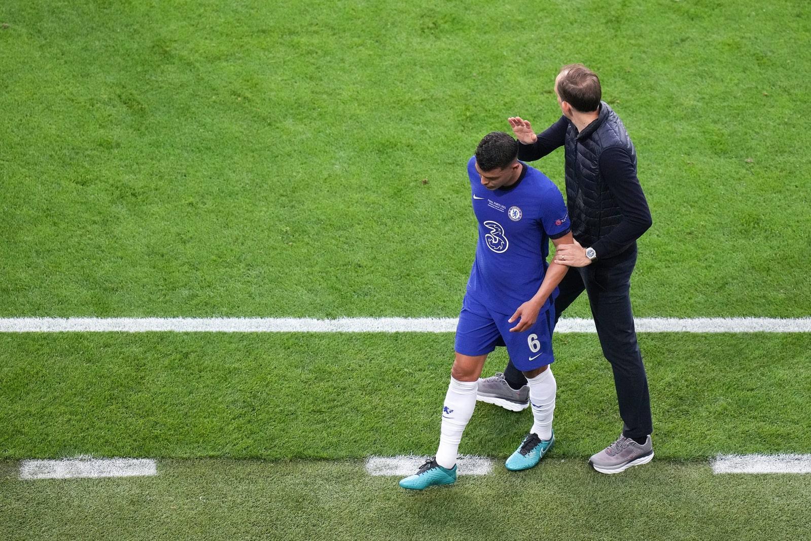Manchester City - FC Chelsea Tuchel Thiago Silva