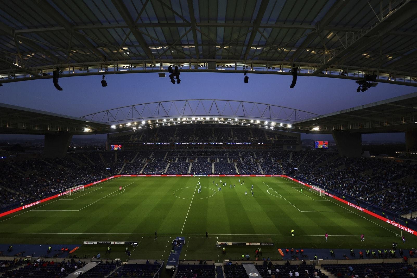 Manchester City - FC Chelsea Stadion Porto