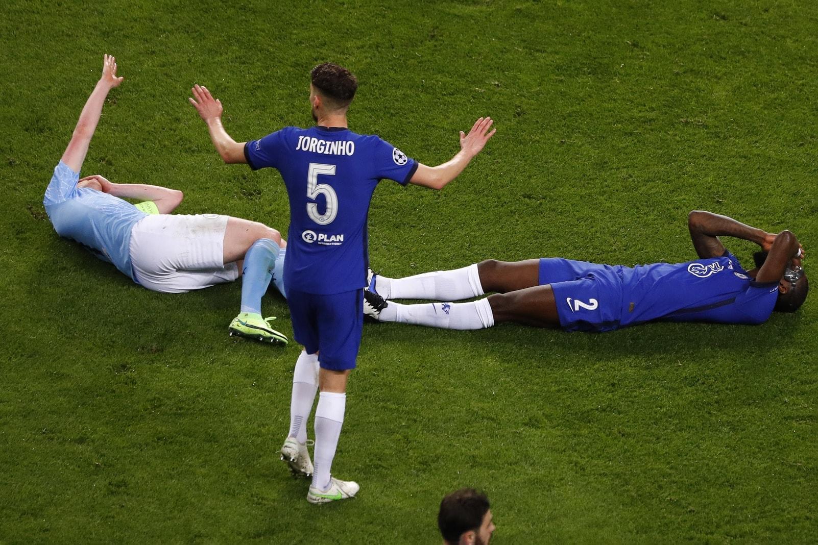 Manchester City - FC Chelsea De Bruyne Rüdiger