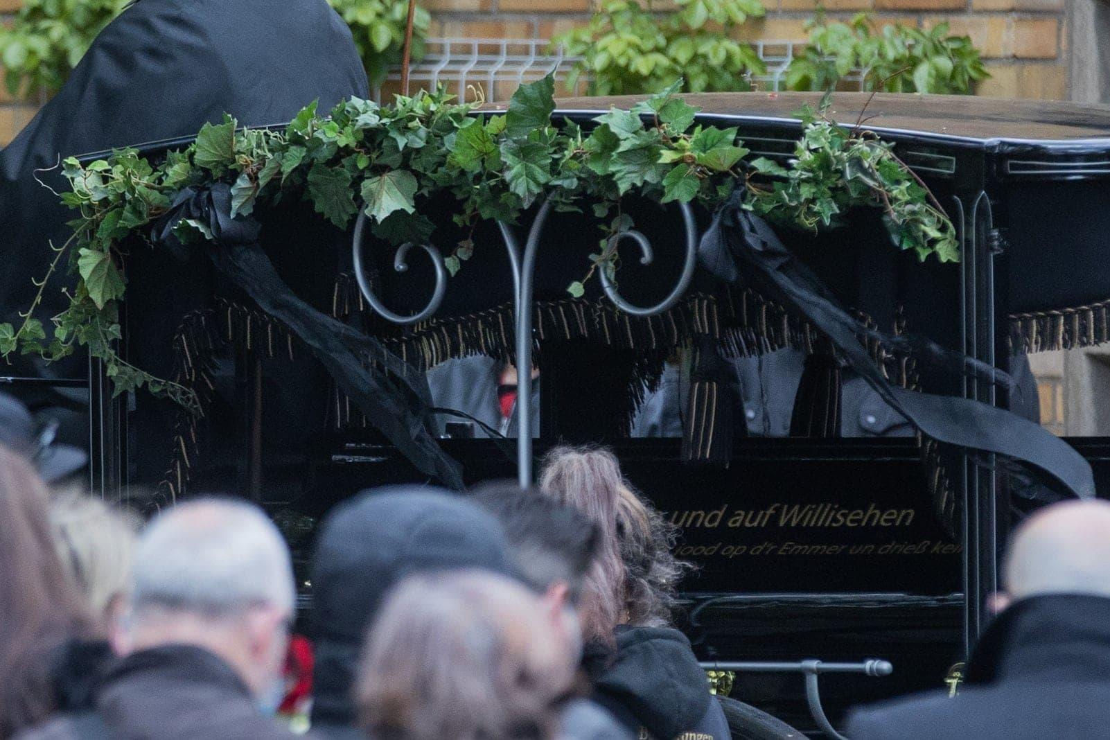 Willi Herren Beerdigung 4