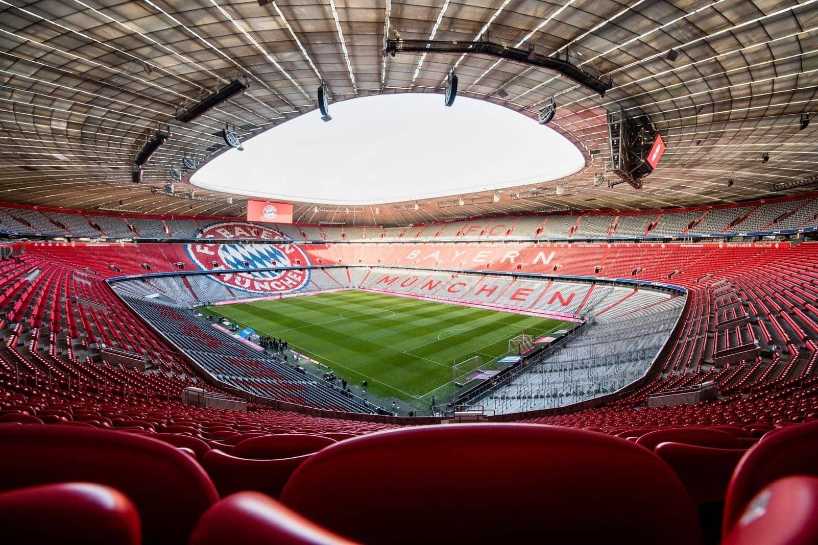 Allianz Arena Innenraum