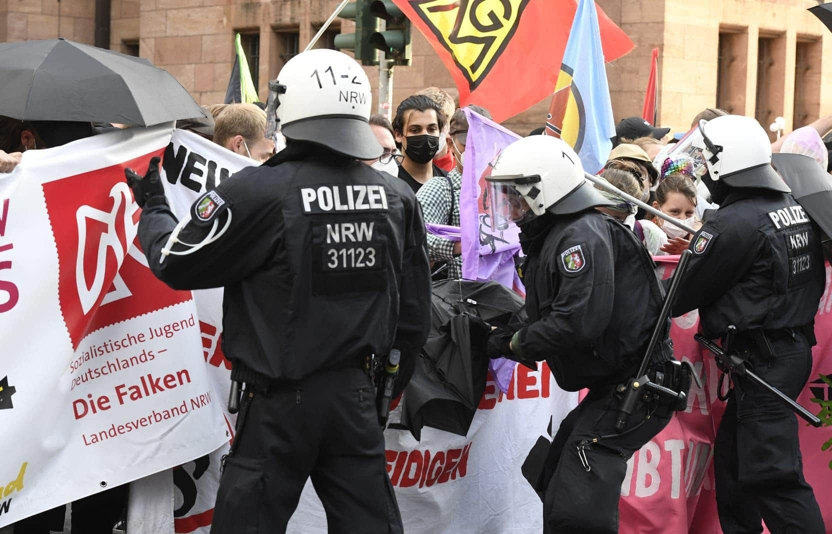 Düsseldorf Demo 26. Juni