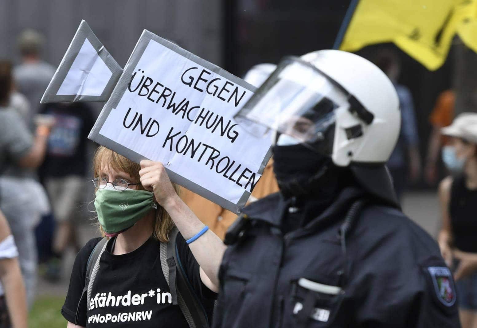 Düsseldorf Demo 26. Juni 2