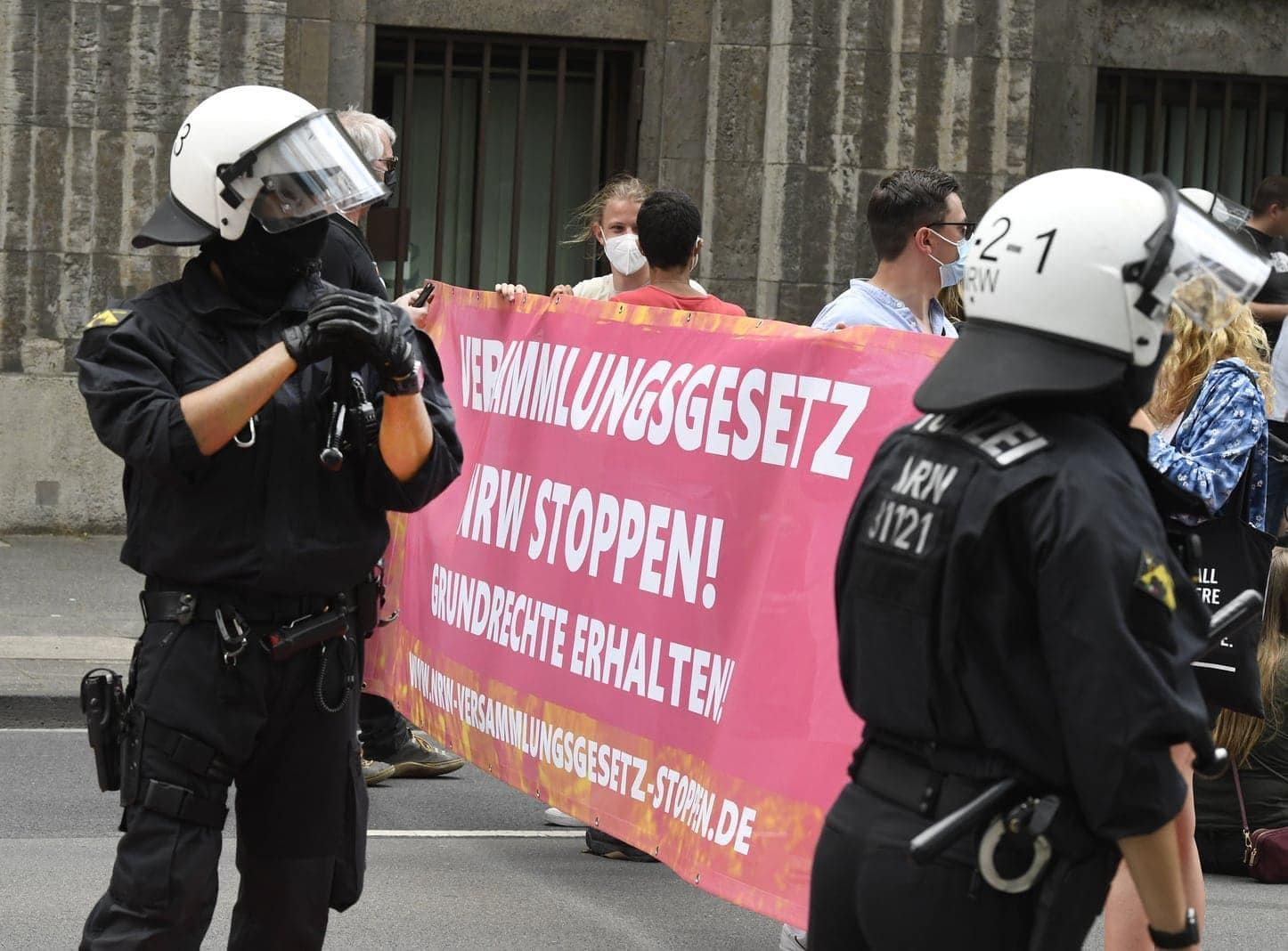 Düsseldorf Demo 26. Juni 3