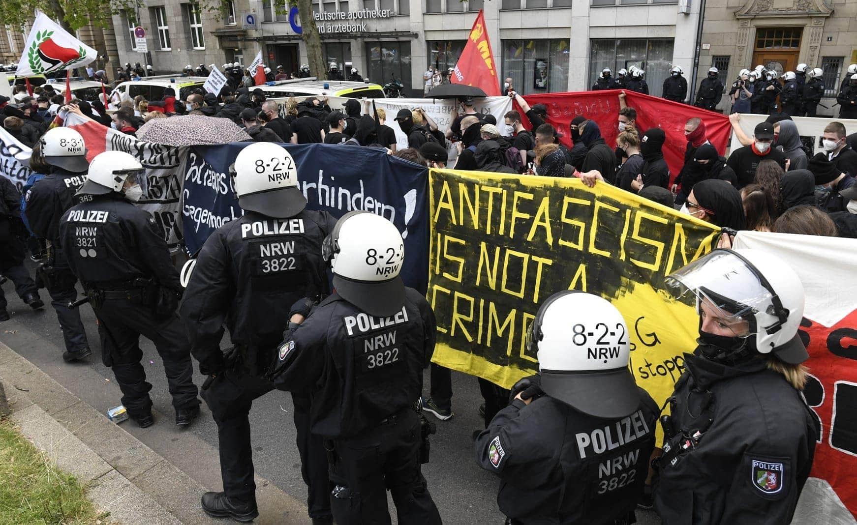 Düsseldorf Demo 26. Juni 4