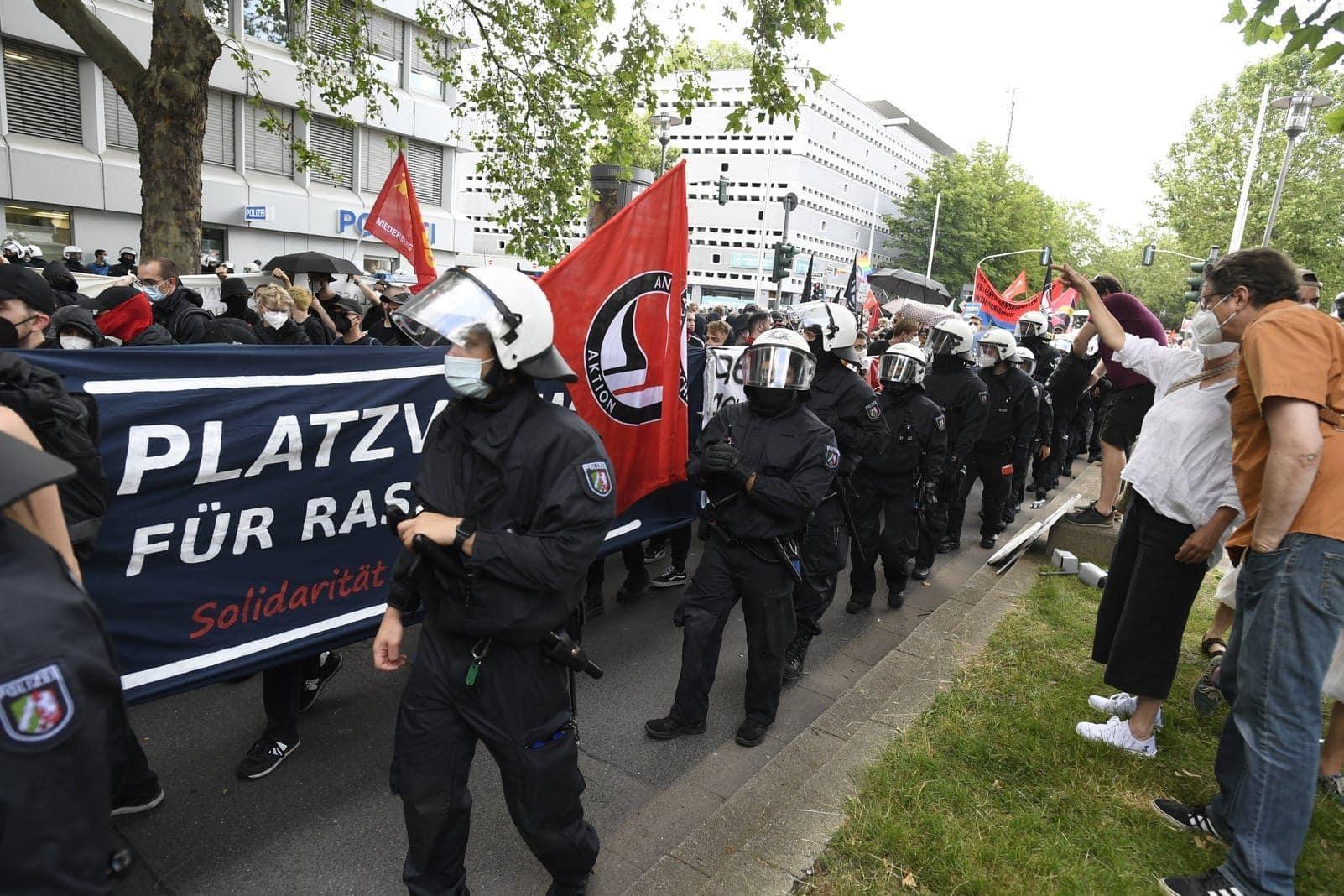 Düsseldorf Demo 26. Juni 5