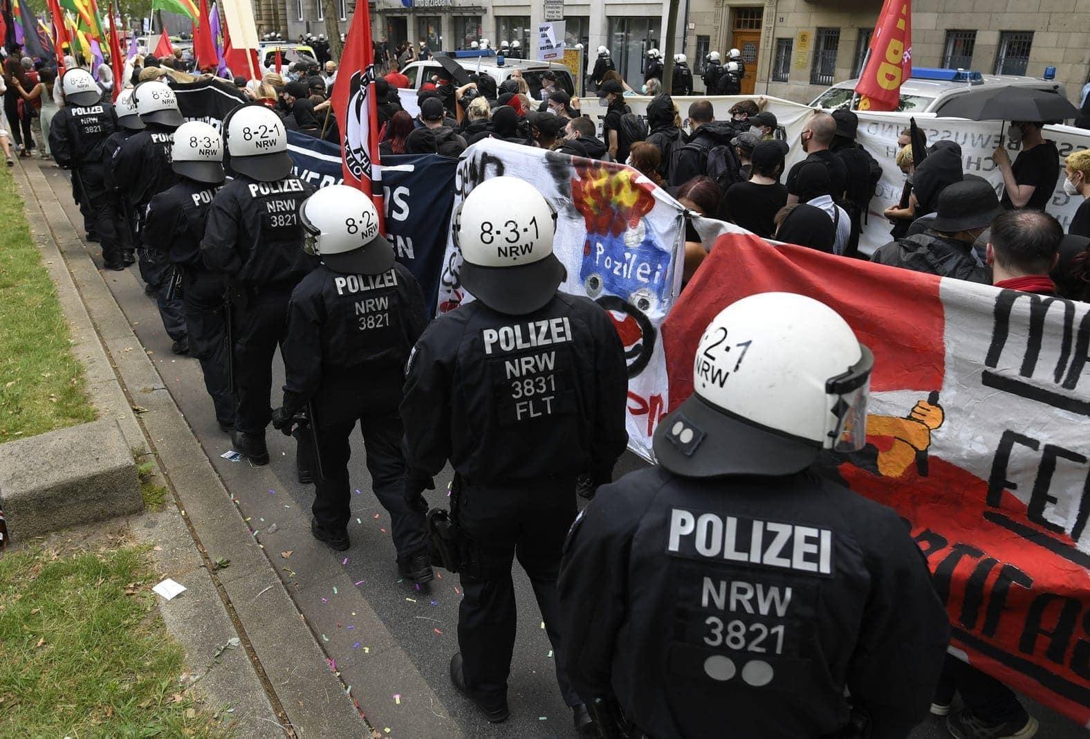 Düsseldorf Demo 26. Juni 6