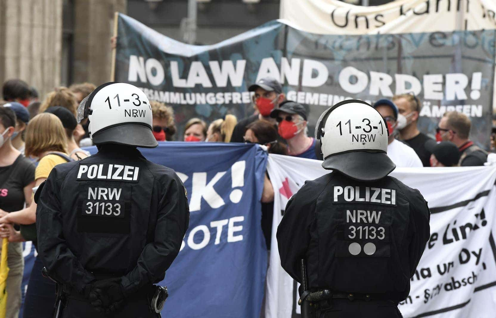 Düsseldorf Demo 26. Juni 8