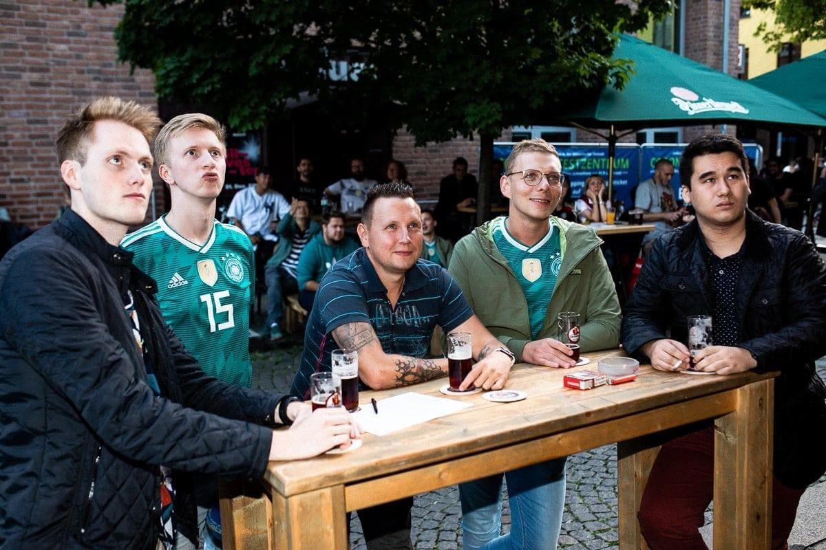EM 2021 Düsseldorf Altstadt Rundgang Deutschland Ungarn