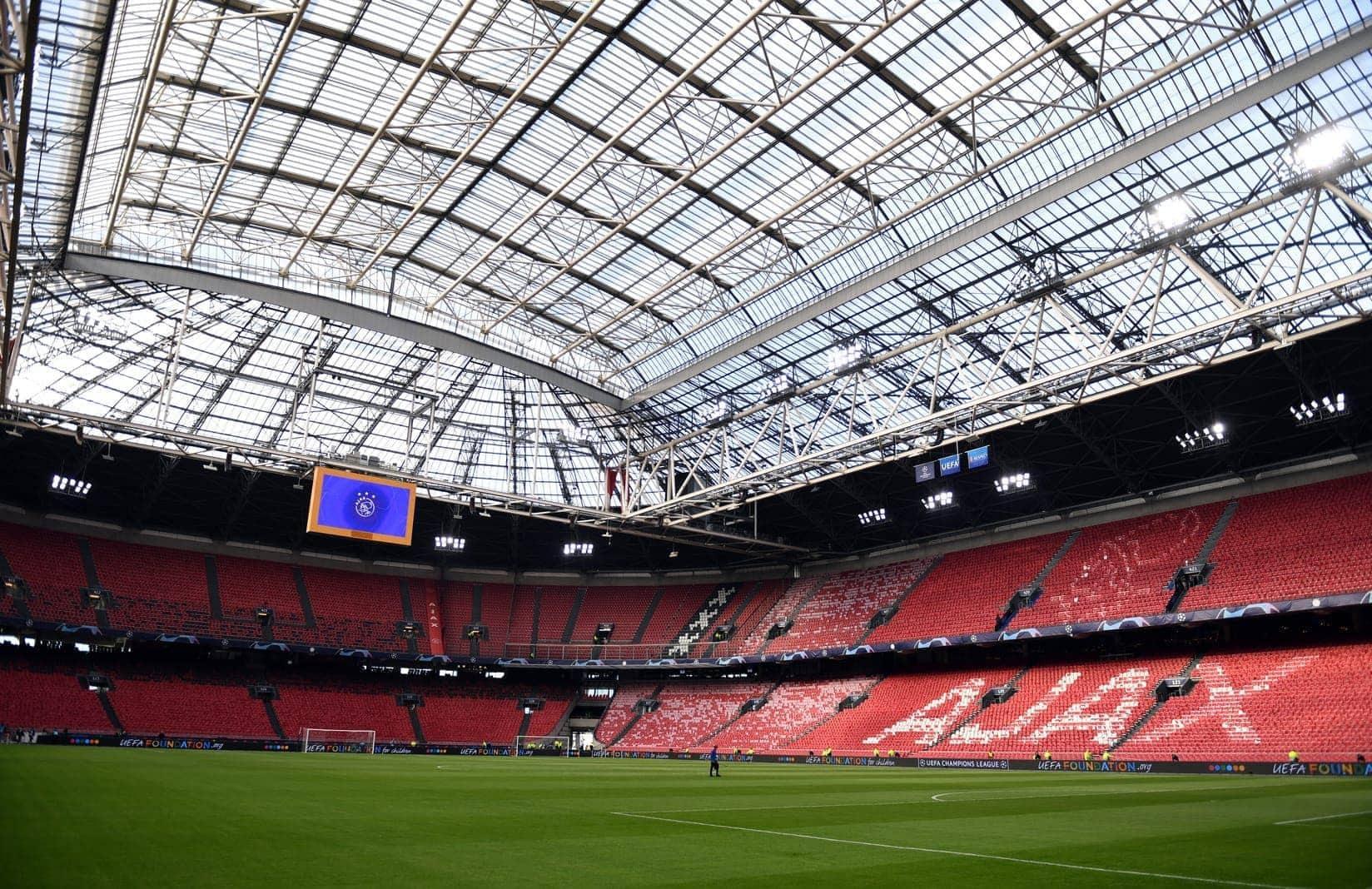 Johan-Cruyff-Arena Innenraum