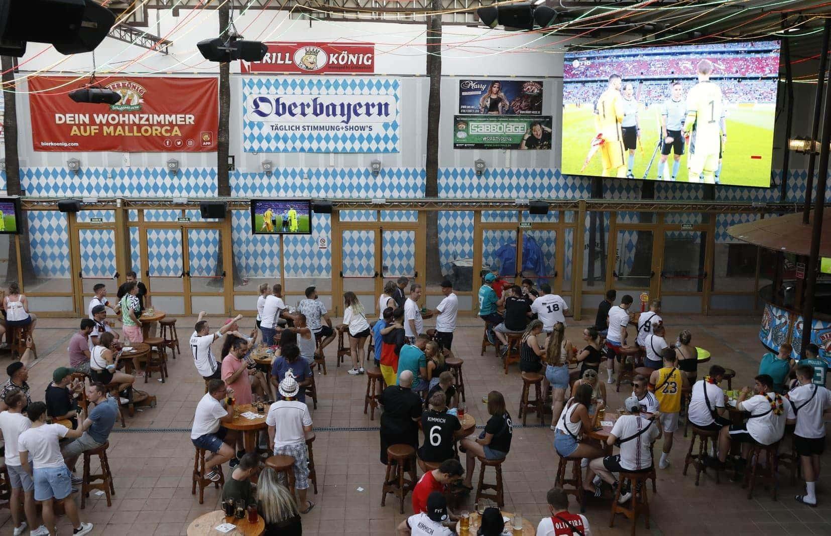 Public Viewing Mallorca Bierkönig EM 2021 1