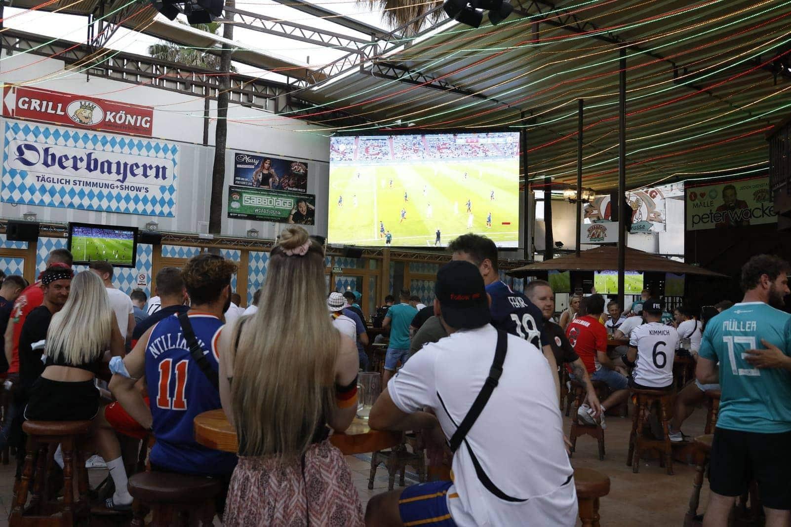 Public Viewing Mallorca Bierkönig EM 2021 2