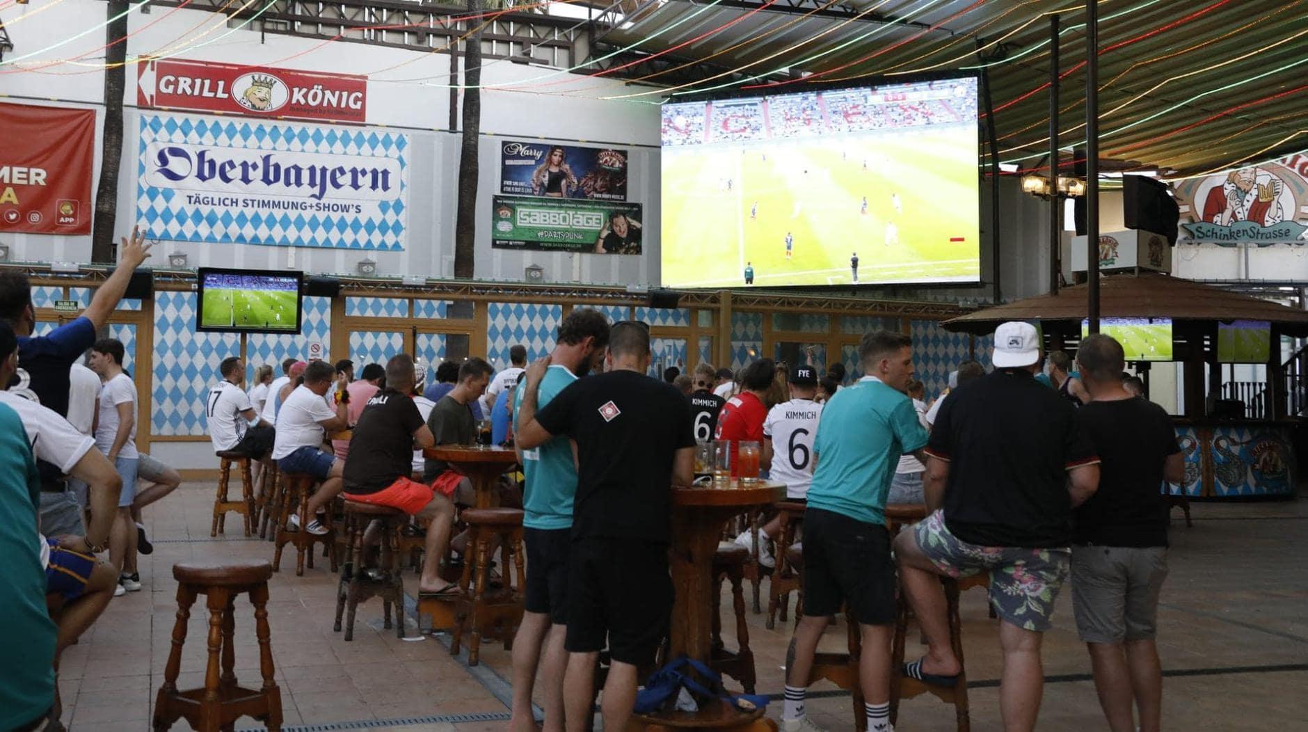 Public Viewing Mallorca Bierkönig EM 2021 6