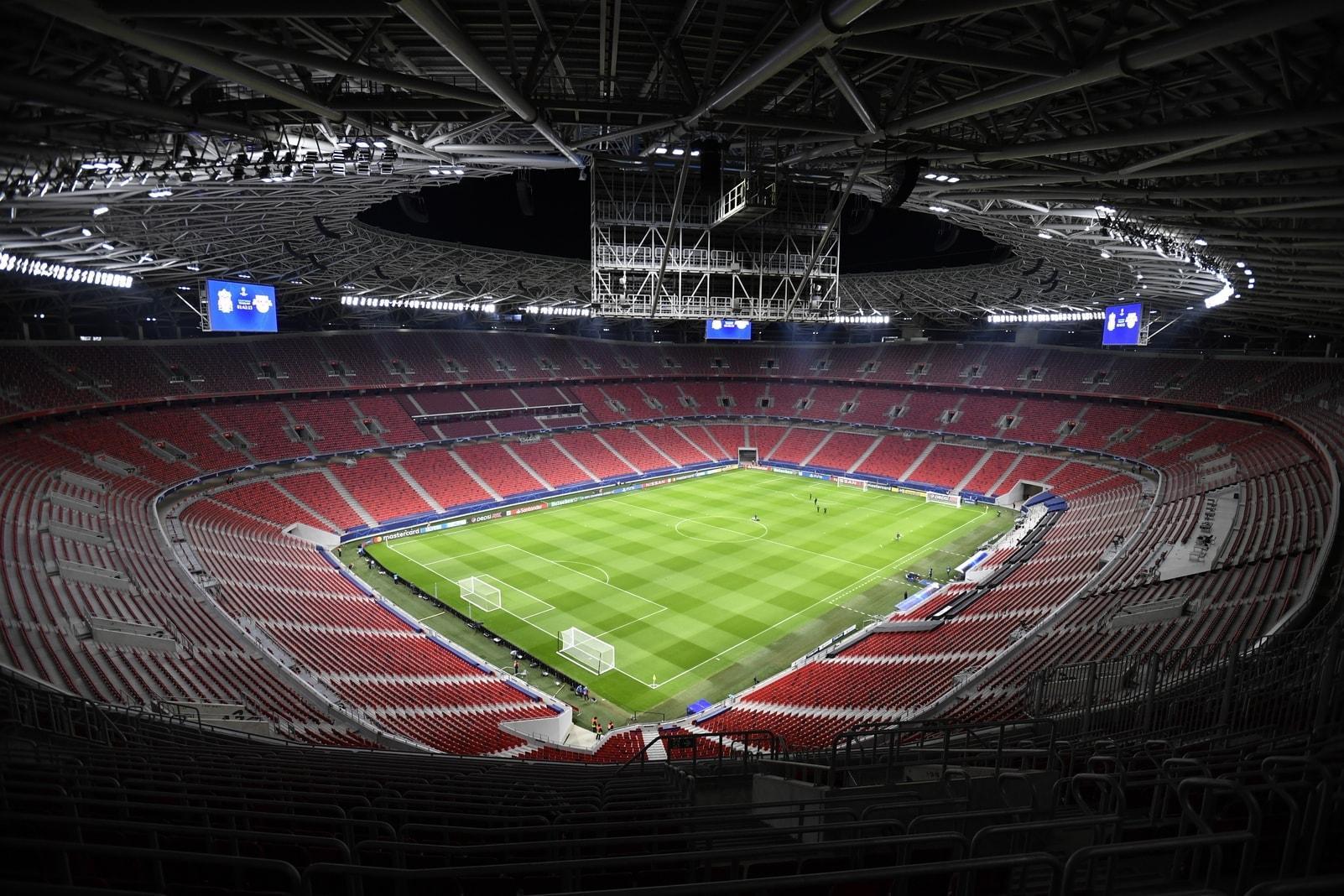 Puskas Arena Budapest Innenraum