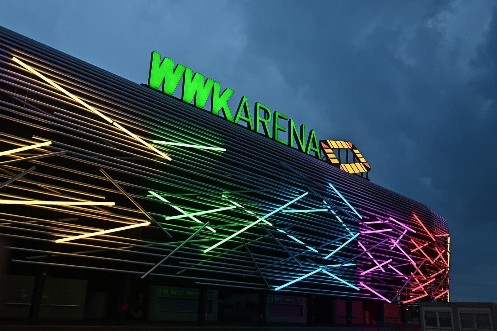 Regenbogen Augsburg WWK Arena