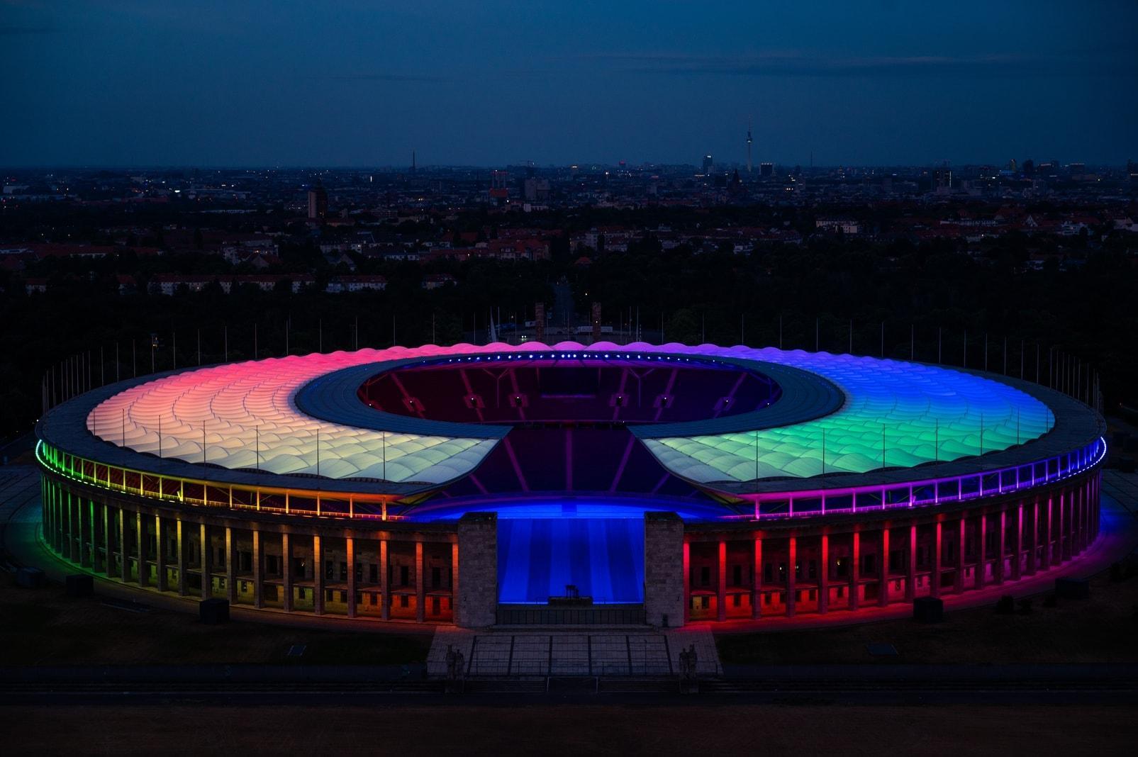 Regenbogen Berlin Olympiastadion