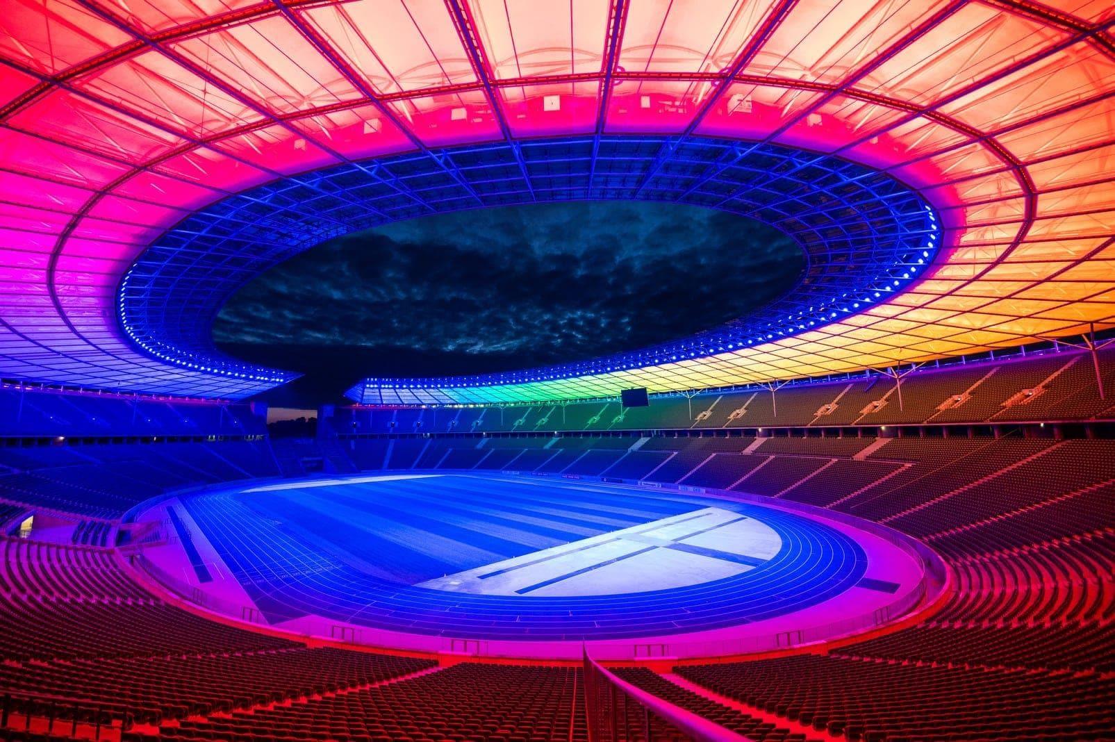 Regenbogen Berlin Olympiastadion 2