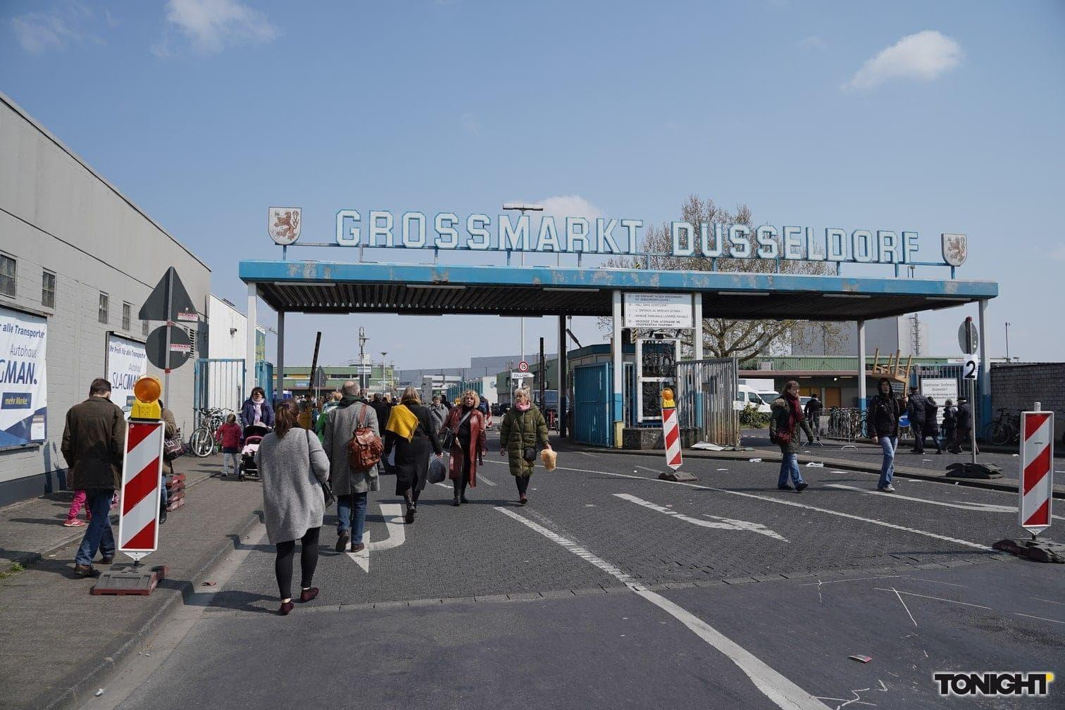Großmarkt Düsseldorf Radschlägermarkt