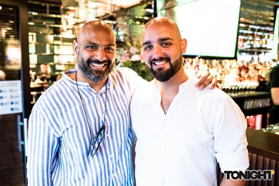 Boston Bar Walid El Sheikh und Andreas Apo