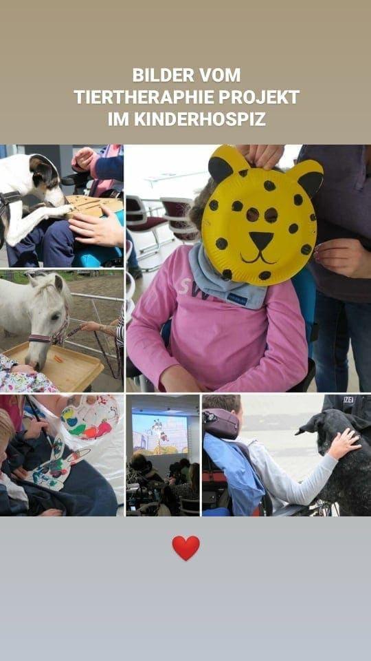 Tiertheraphie Projekt Düsseldorf Kinderhospiz