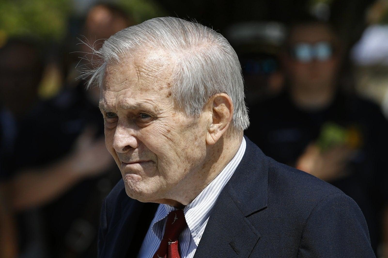 Donald Rumsfeld 2019