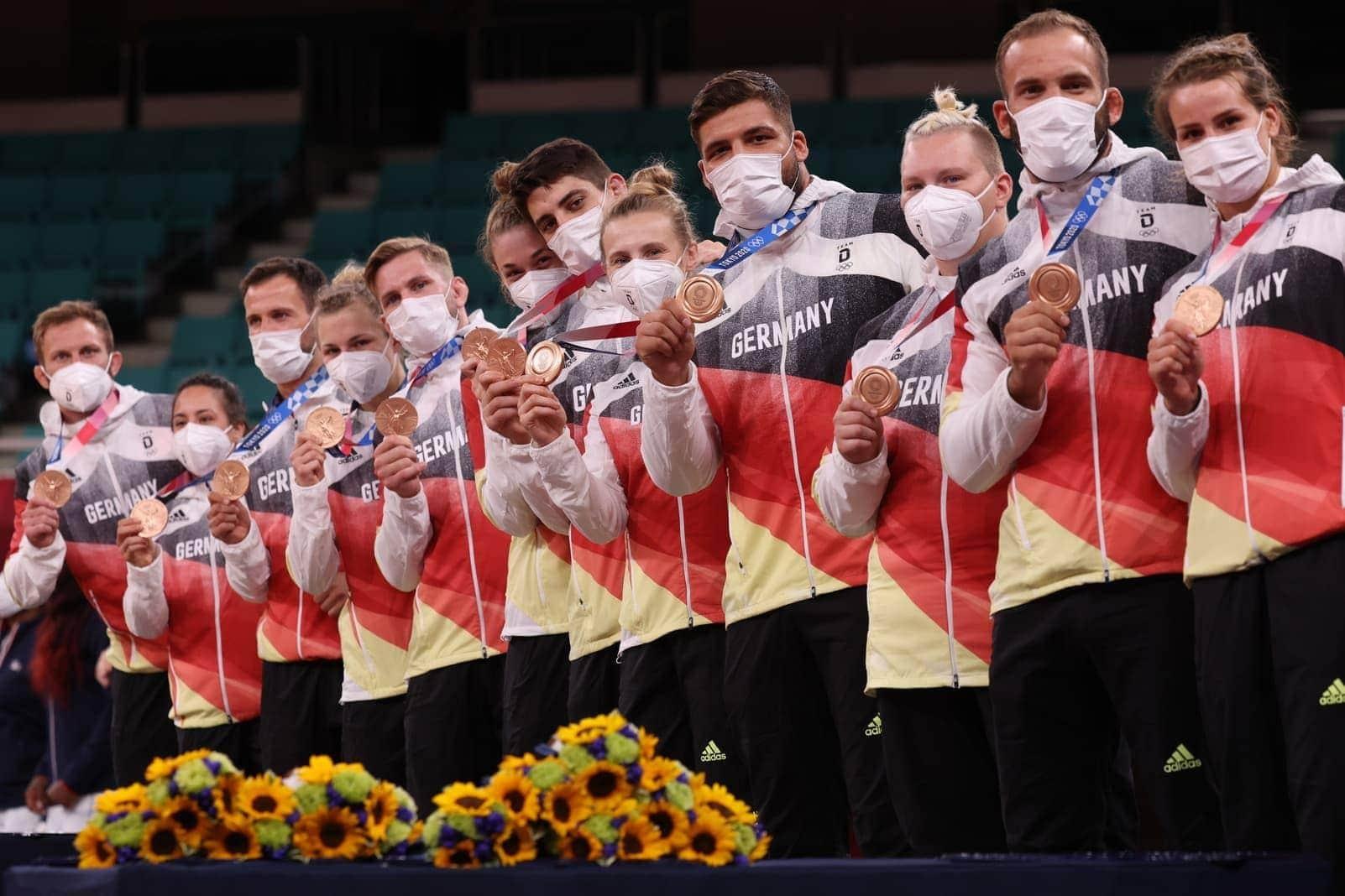 Judo Mixed Mannschaft Olympia 2021