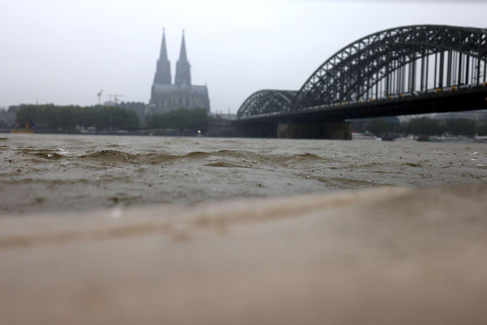 Köln Rhein Hochwasser Starkregen 5